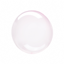 "Crystal Clearz Petite Balloon - Light Pink Crystal Clearz Petite  (12"") 1pc"
